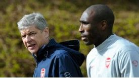 Sol Campbell feels his Arsenal performances warranted a call-up