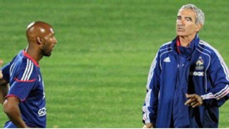 Nicolas Anelka was sent home from South Africa after clashing with now-departed coach Raymond Domenech