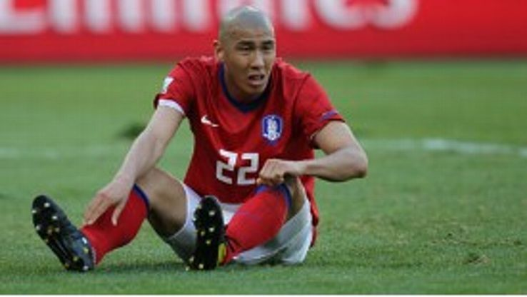 Cha Du-Ri started three of South Korea's four matches at the 2010 World Cup