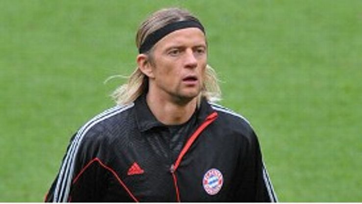 Anatoliy Tymoschuk has not started a match for Bayern in 2010