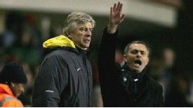 Mourinho and Wenger rarely saw eye to eye when the 'Special One' was Chelsea manager