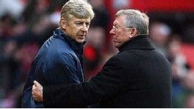 Ferguson and Wenger: Long-time Premier League rivals