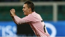 Josip Ilicic has scored eight goals in 23 Serie A games for Palermo this season
