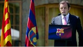 Barcelona president Sandro Rosell could be set for a period in jail