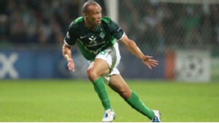 Mikael Silvestre left Werder Bremen in the summer