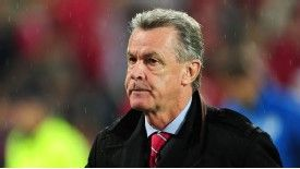 Switzerland coach Ottmar Hitzfeld