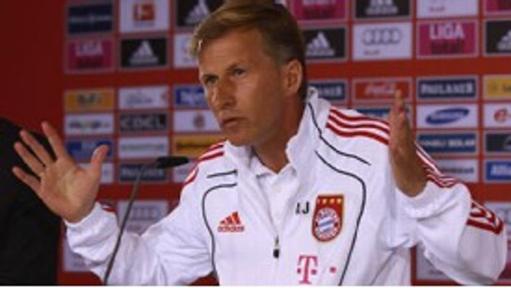 Andries Jonker: Bayern caretaker manager