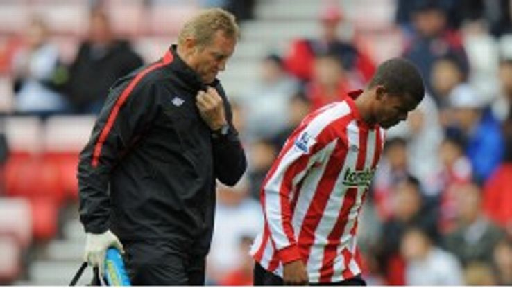Fraizer Campbell has not featured for Sunderland since going off against Manchester City in August