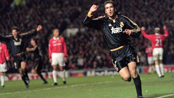 Raul played in two Champiosn League knockout victories over Man Utd during his time at Real Madrid