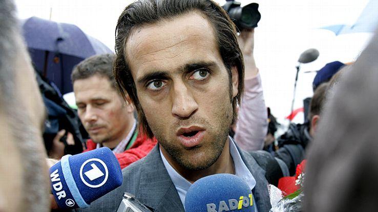 Ali Karimi: The deep-lying forward has played 112 times for Iran