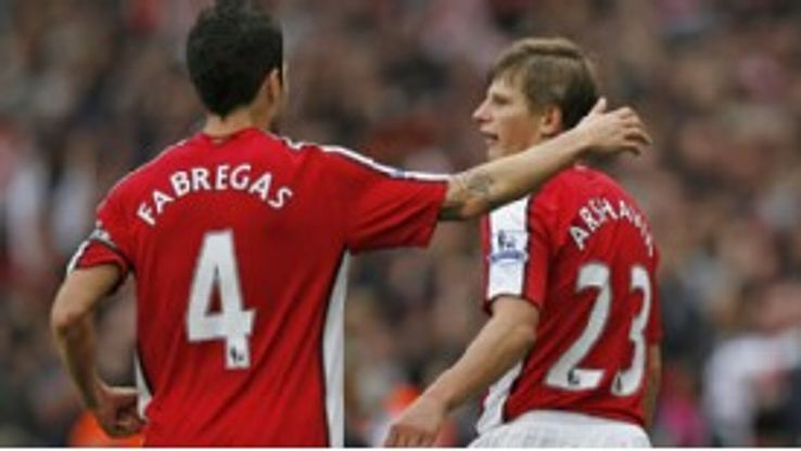 Andrei Arshavin and Cesc Fabregas: Soon to be ex-team-mates?