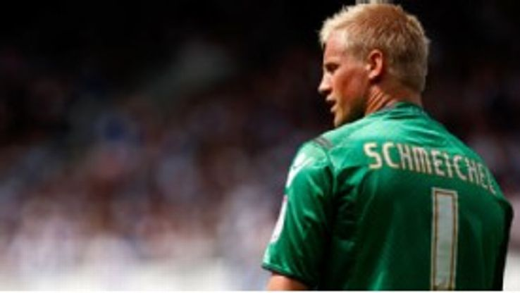 Kasper Schmeichel moved south from Leeds
