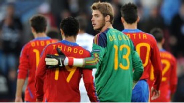 David de Gea is currently on international duty with Spain at the UEFA U-21 Championship