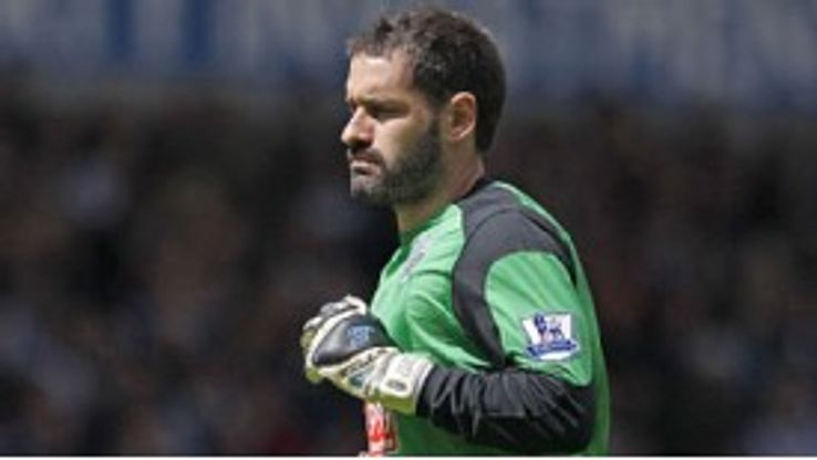 Scott Carson made 118 appearances in his time at West Brom