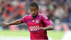 Michel Bastos joined Lyon from Lille in 2009