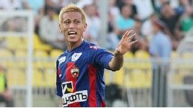 Keisuke Honda signed for CSKA Moscow from VVV-Venlo two years ago