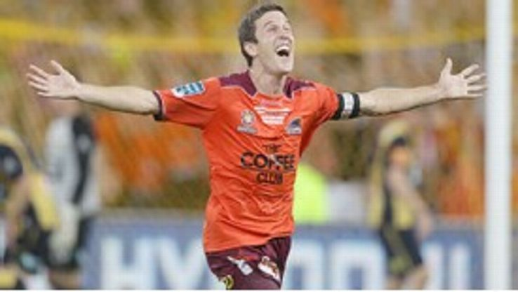 Matt McKay led the Brisbane Roar to A-League glory last season