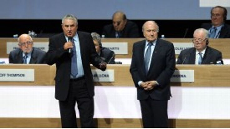Jim Boyce has been Britain's vice-presidential representative at FIFA since June