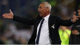 Edy Reja took over at Lazio in 2010