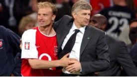 Dennis Bergkamp, one of clever ones, played under Arsene Wenger for a decade at Arsenal