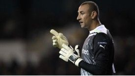 Heurelho Gomes is yet to play in the Premier League for Tottenham this season