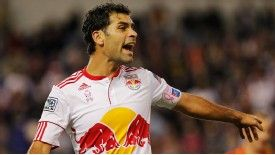 Rafael Marquez was red carded during New York's recent play-off clash with LA Galaxy