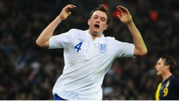 Phil Jones impressed for England in central midfield against Sweden