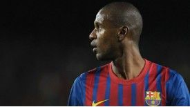 Eric Abidal underwent surgery earlier this week