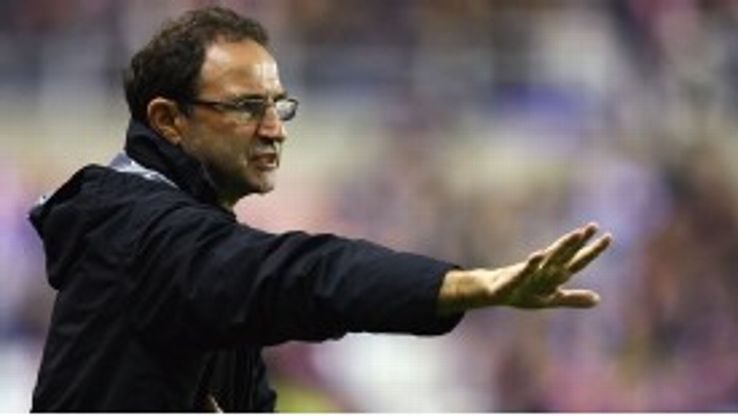 Martin O'Neill won 80 of his 190 games in charge of Aston Villa