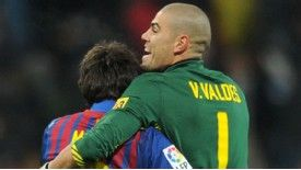 Victor Valdes is expecting big things from Lionel Messi