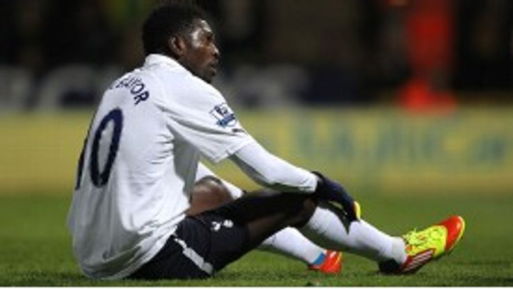 Emmanuel Adebayor has impressed while on loan at Spurs this season