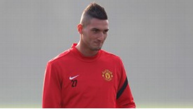 Federico Macheda: Eligiible to play against Norwich