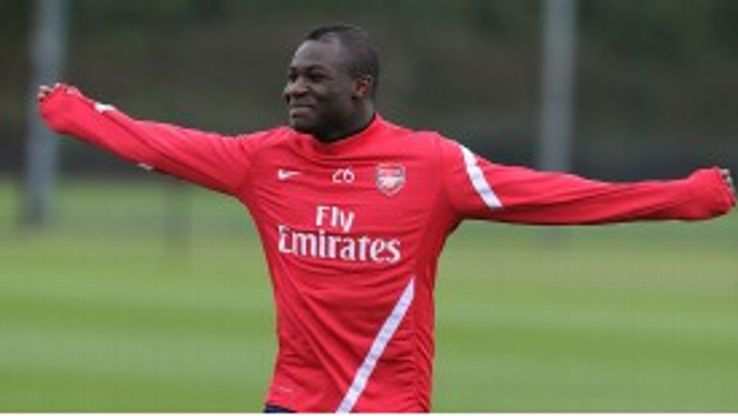 Emmanuel Frimpong is hoping to force his way back into Arsene Wenger's plans