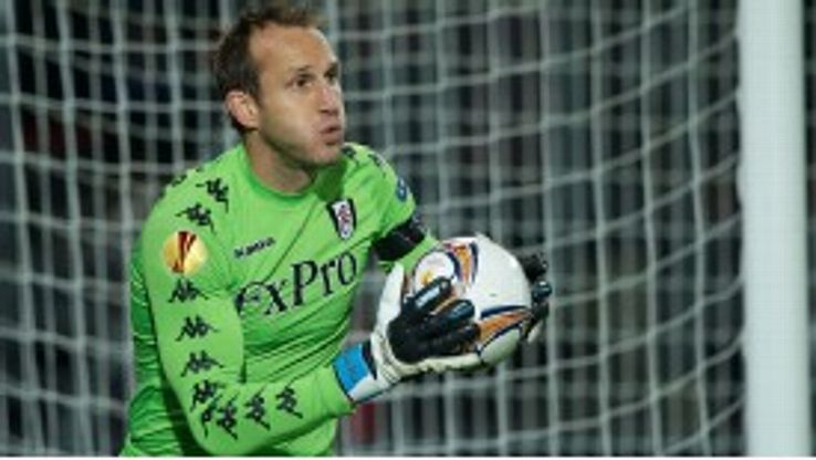 Mark Schwarzer joined Fulham from Middlesbrough in 2008