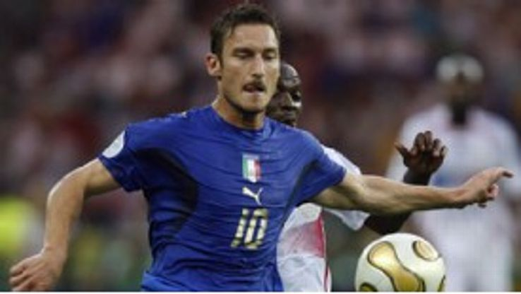 Francesco Totti's last match for Italy was the 2006 World Cup final