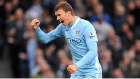 Edin Dzeko: Scored against Blackburn