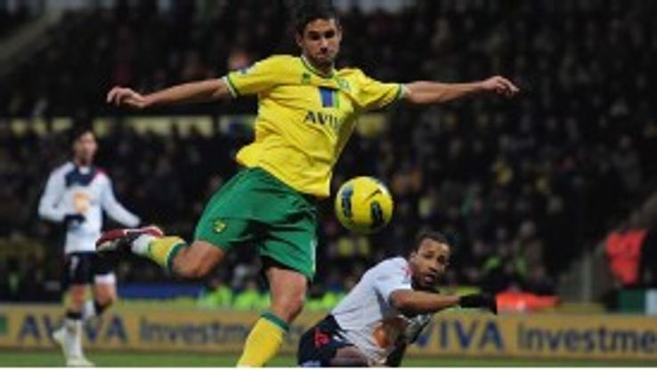 Andrew Surman fires Norwich into the lead against Bolton