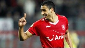 Nacer Chadli scored the goal which secured FC Twente's safe passage at home to Steaua