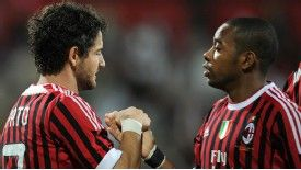 Pato and Robinho start for AC Milan against Juventus