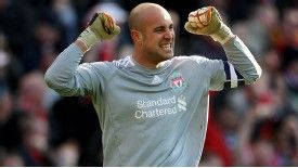 Pepe Reina and Liverpool are getting usd to a different way of playing