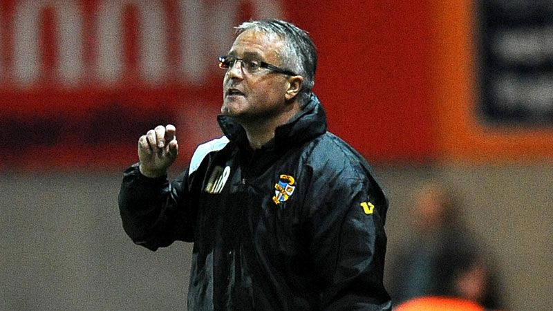 Micky Adams faces a tough task at Port Vale