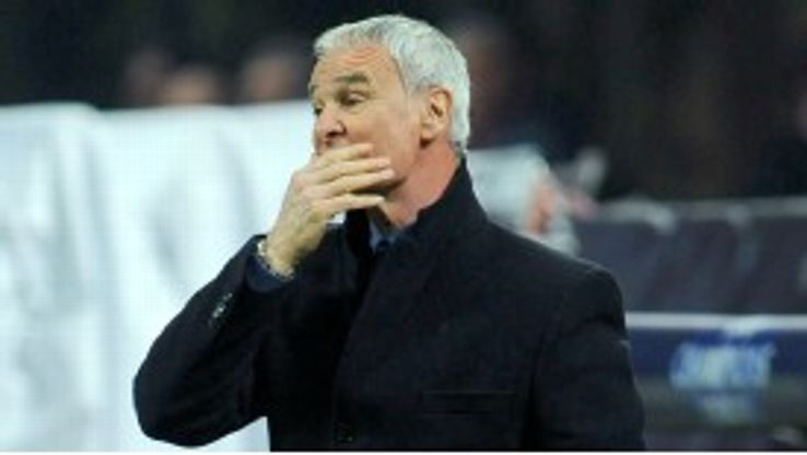 Claudio Ranieri watches on as Inter exit the Champions League despite victory over Marseille