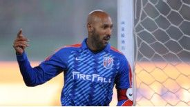 Anelka was made captain for his CSL debut