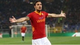 Daniel Osvaldo had not scored for Roma since December