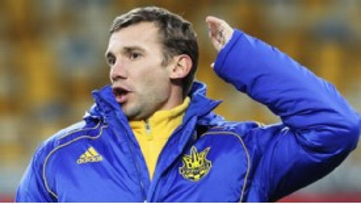 Andriy Shevchenko is an icon in his homeland and his presence at the Euros will be a major boost