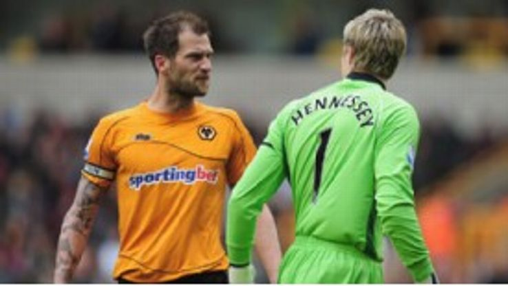 Wayne Hennessey and Roger Johnson's on-pitch confrontation last week showed all is not well at Wolves