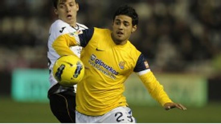 Carlos Vela has played an important role for Real Sociedad