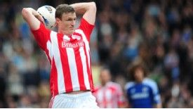 Huth received 28 stitches after a head clash in December
