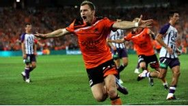 Besart Berisha grabbed a match-winning brace for Brisbane Roar in the A_league Grand Final