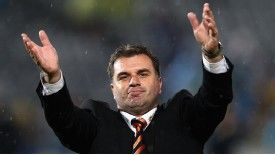 Ange Postecoglou took over at Brisbane Roar in 2009
